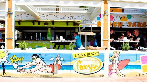 Foxy´s Beach Bar Magaluf